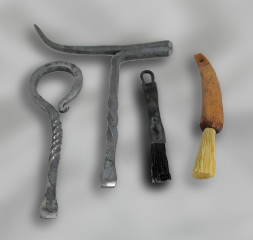 A hand made tool set, by Ray Antosh.